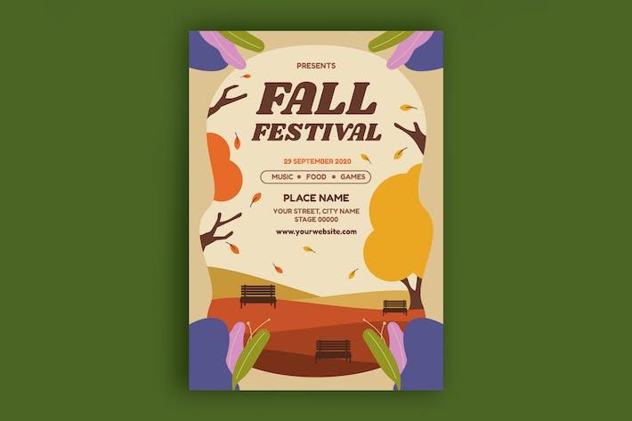 Thumbnail for Fall Festival Poster