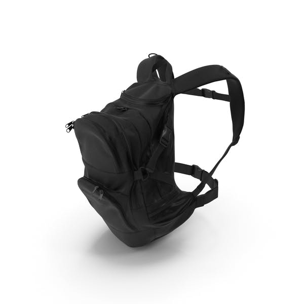 Camping Backpack Medium Black