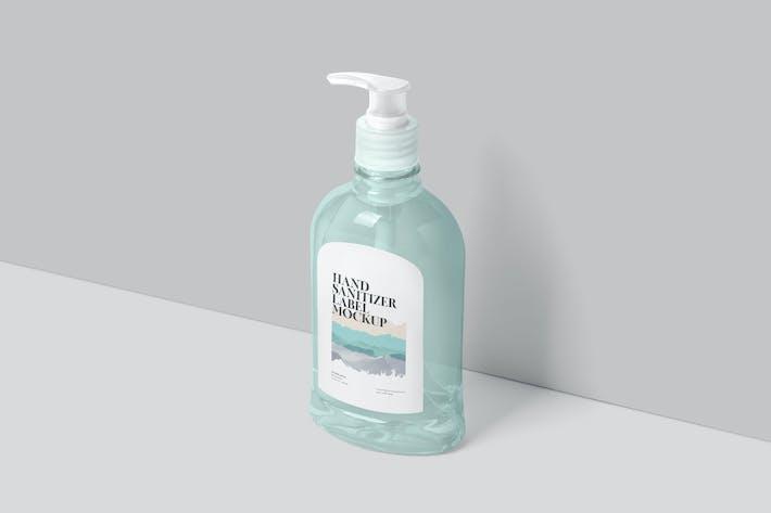 Thumbnail for Pet Liquid Dispenser Bottle Mockups