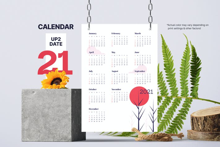 Thumbnail for 2021 Calendar
