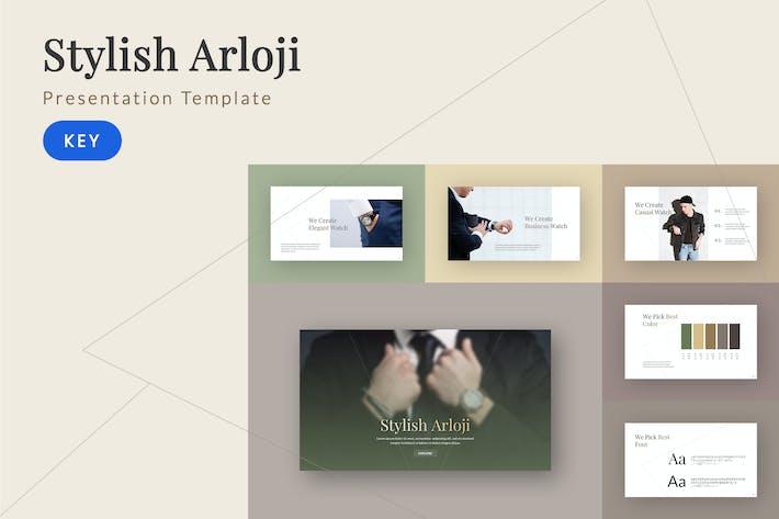 Thumbnail for Arloji - Elegant Keynote Template