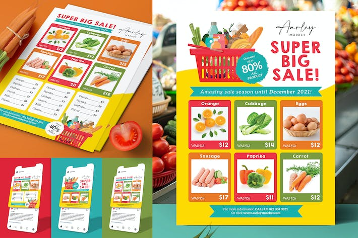 Thumbnail for Supermarket Flyer