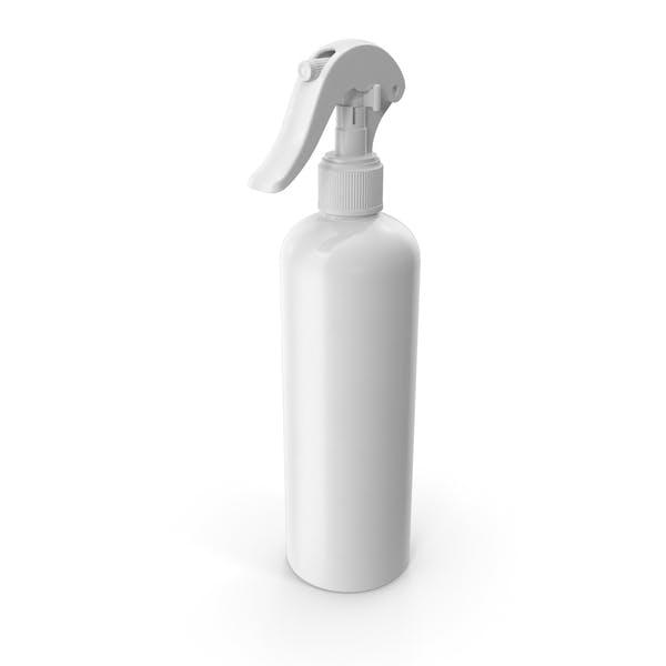Спрей бутылка белый многоразовый 300 мл