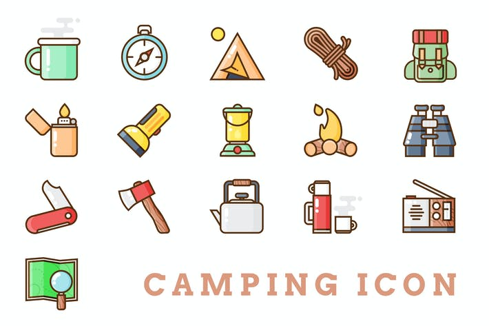 Thumbnail for Camping Icon