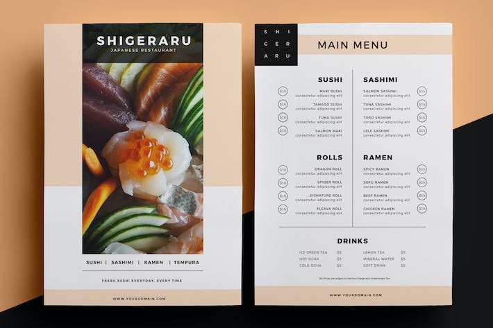 Thumbnail for Restaurant Menu