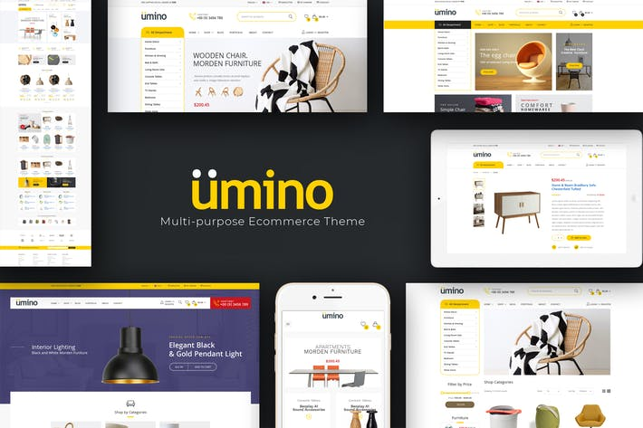 Thumbnail for Umino - Electronic OpenCart Theme