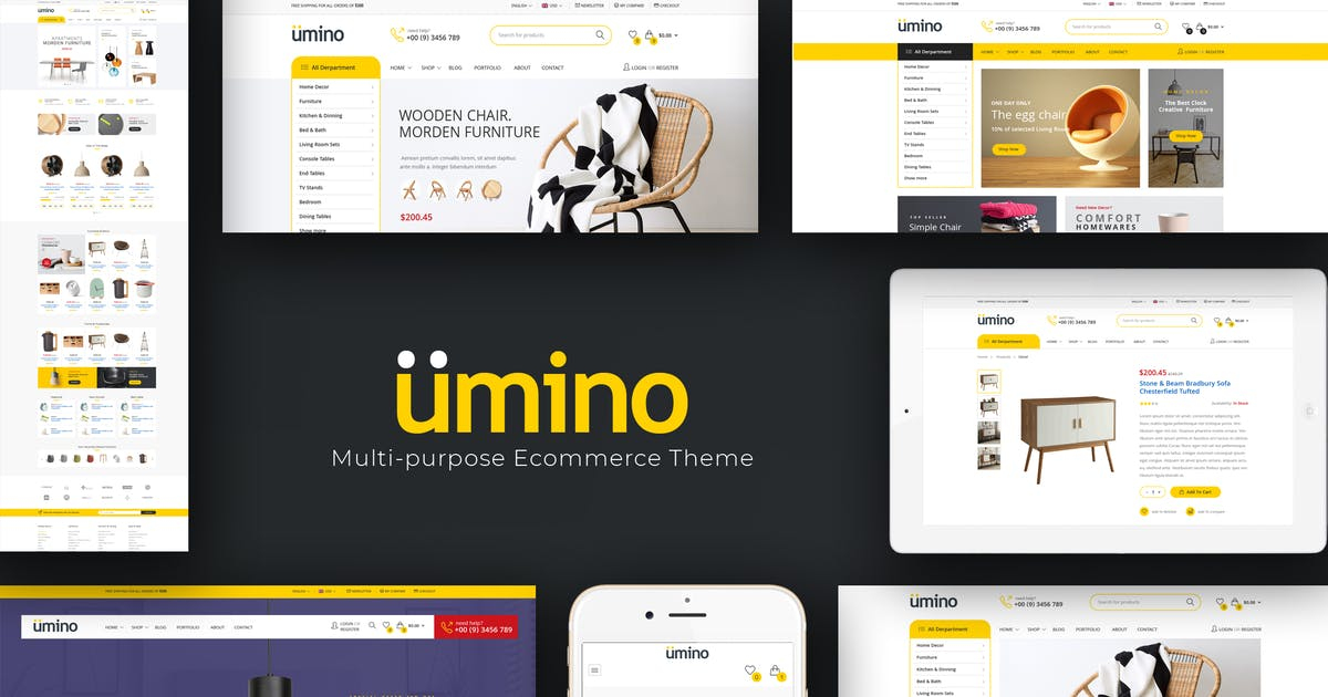 Download Umino - Electronic OpenCart Theme by Plaza-Themes