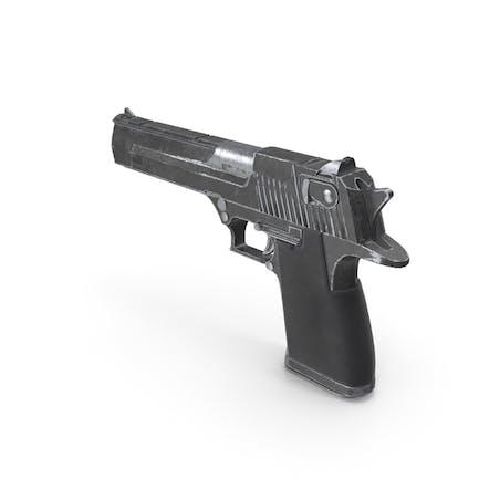 Worn Pistol