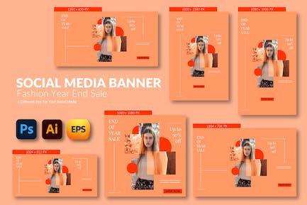 Fashion Girls – Social Media Banner Template