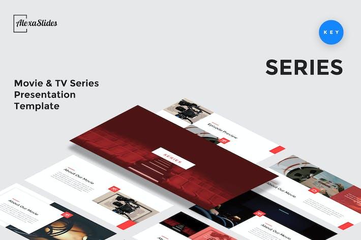 Series - Movie Keynote Presentation Template