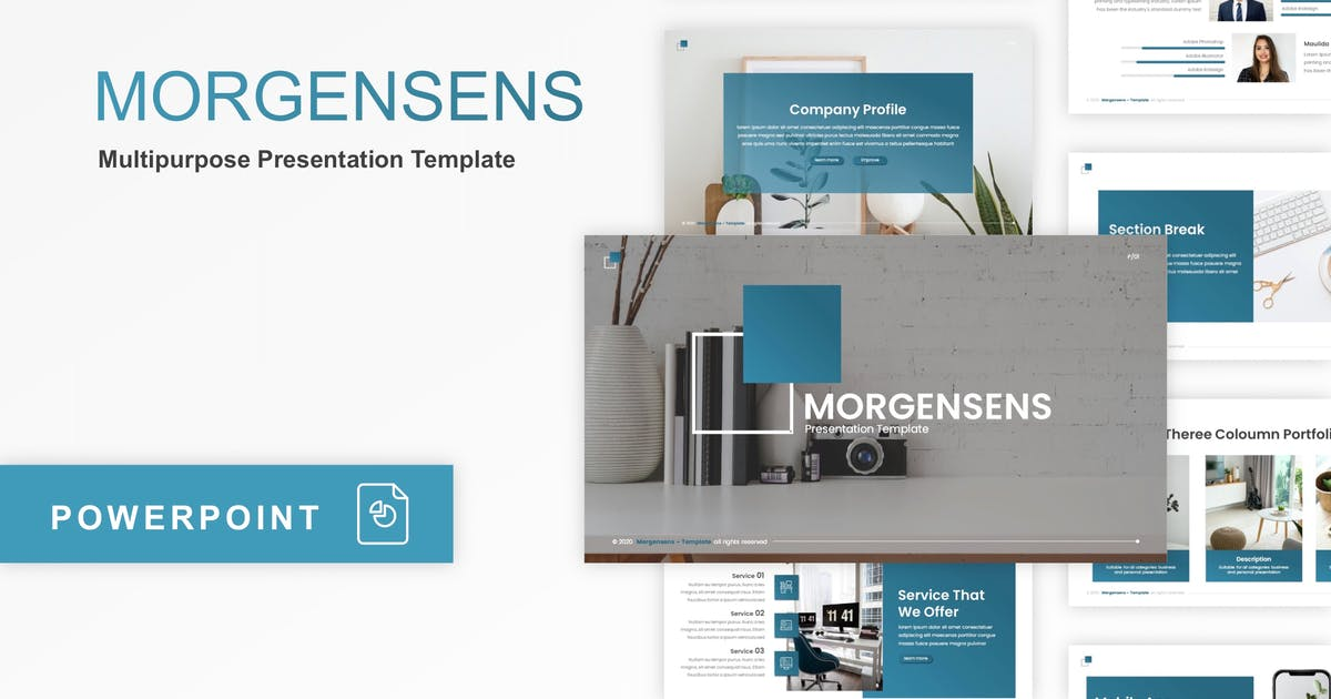 Download Morgensens - Multipurpose PowerPoint Template by CocoTemplates