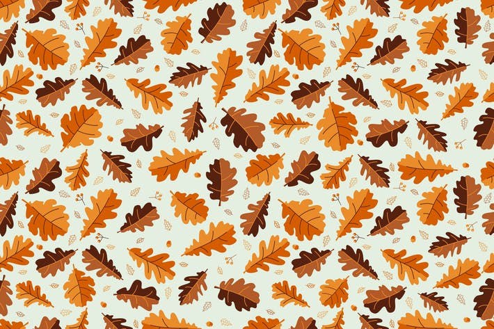 Thumbnail for Oak Leaf Pattern
