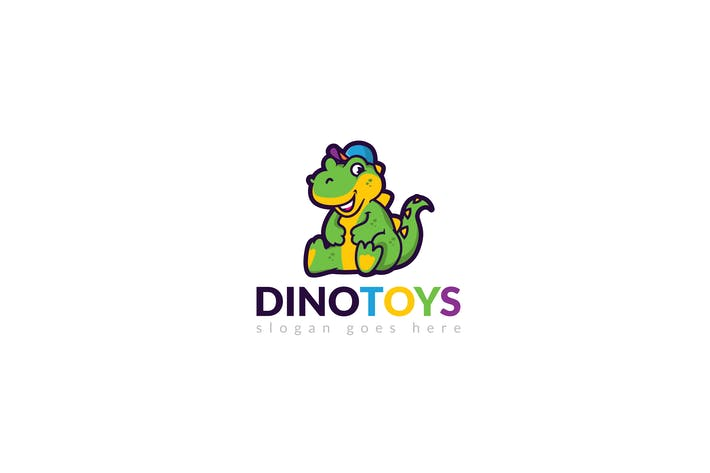 Thumbnail for Dino Logo Template