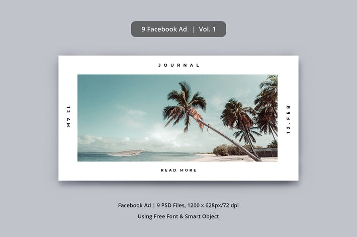 Cover Image For Facebook Ad Vol. 1