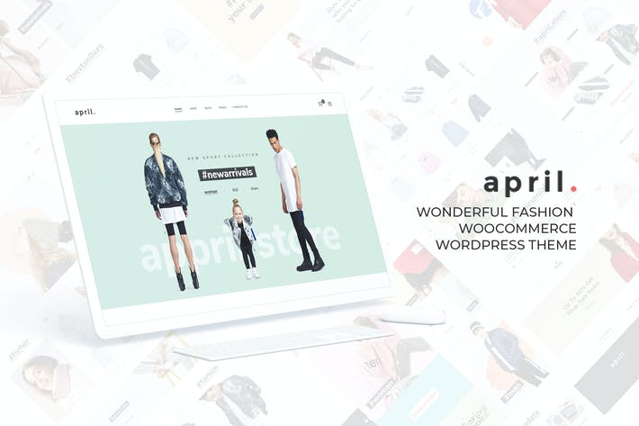 Thumbnail for APRIL - Wunderbare Mode WooCommerce WordPress Th