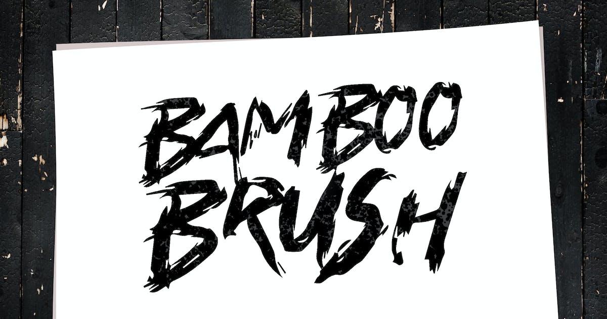 Download Bamboo Brush - Hand written Typeface by Slidehack
