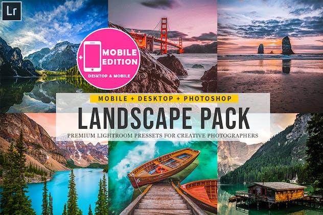 Landscape Lightroom Presets - product preview 12