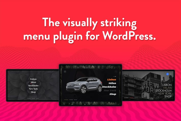 Thumbnail for Wauki: Fullscreen WordPress Menu