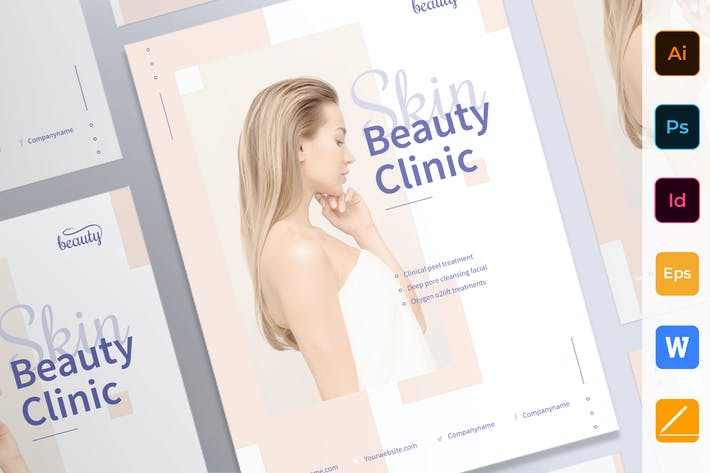 Cover Image For Skin Beauty Clinic Poster