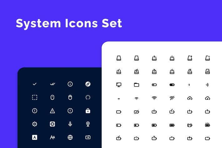 Thumbnail for System Icons Set