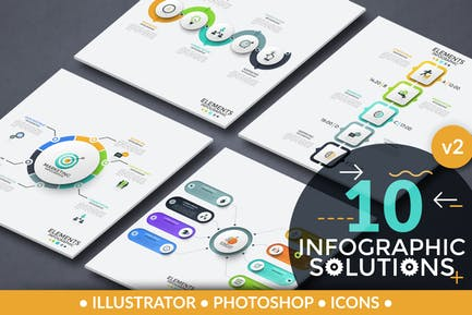 Infographic Solutions. Part 2
