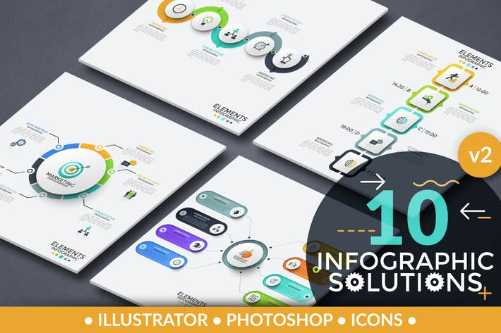 Thumbnail for Infographic Solutions. Part 2