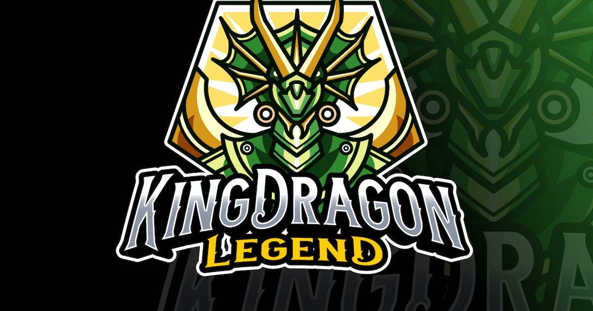 Download King Dragon Logo Template by IanMikraz