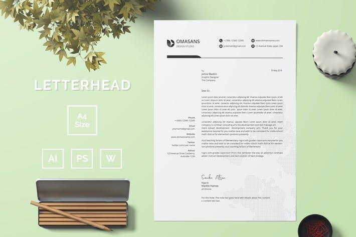 Thumbnail for Letterhead Template 03