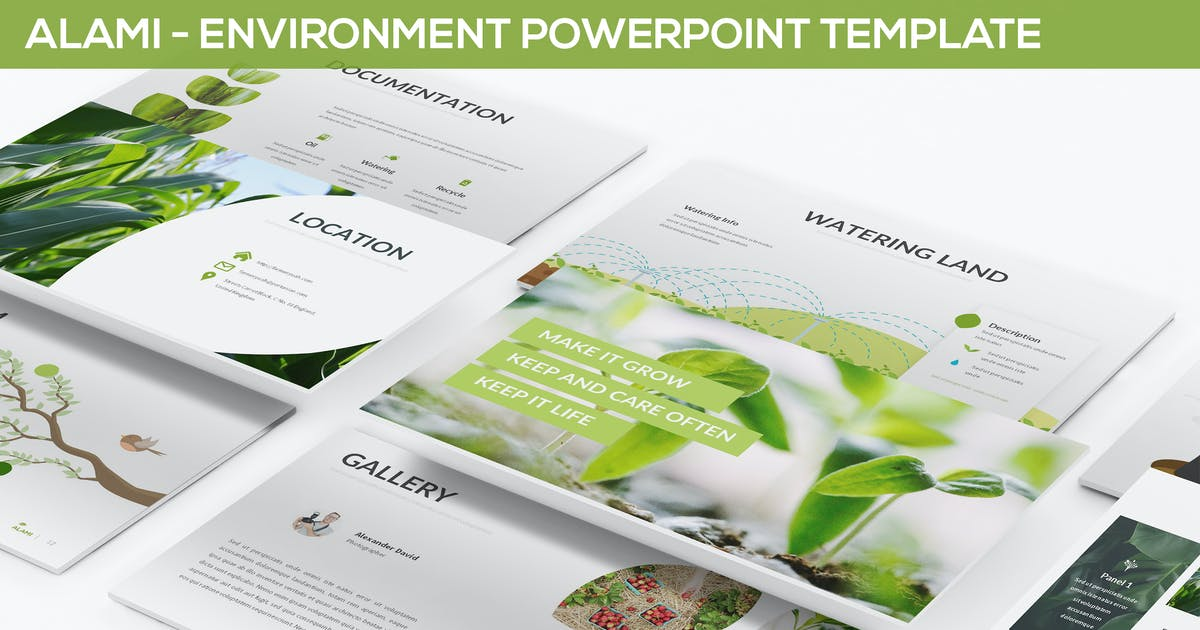Download Alami - Environment Powerpoint Template by Unknow