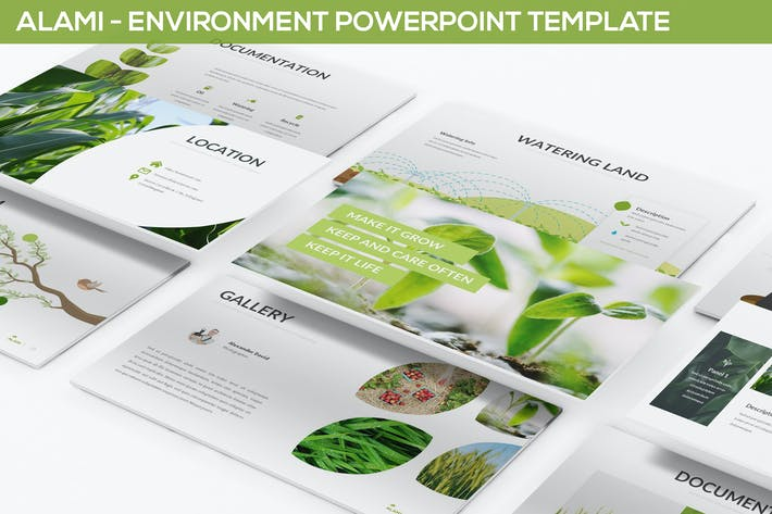 Alami Environment Powerpoint Template By Slidefactory On Envato