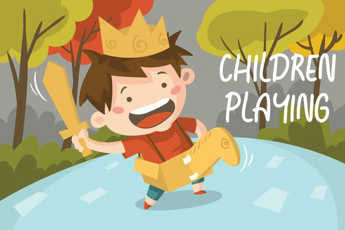 Thumbnail for PLAYING - Vector Illustration