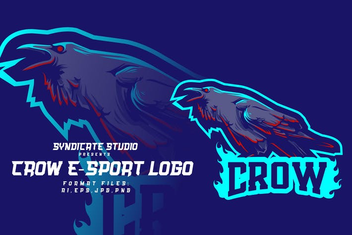 Thumbnail for CROW E-sport Logo