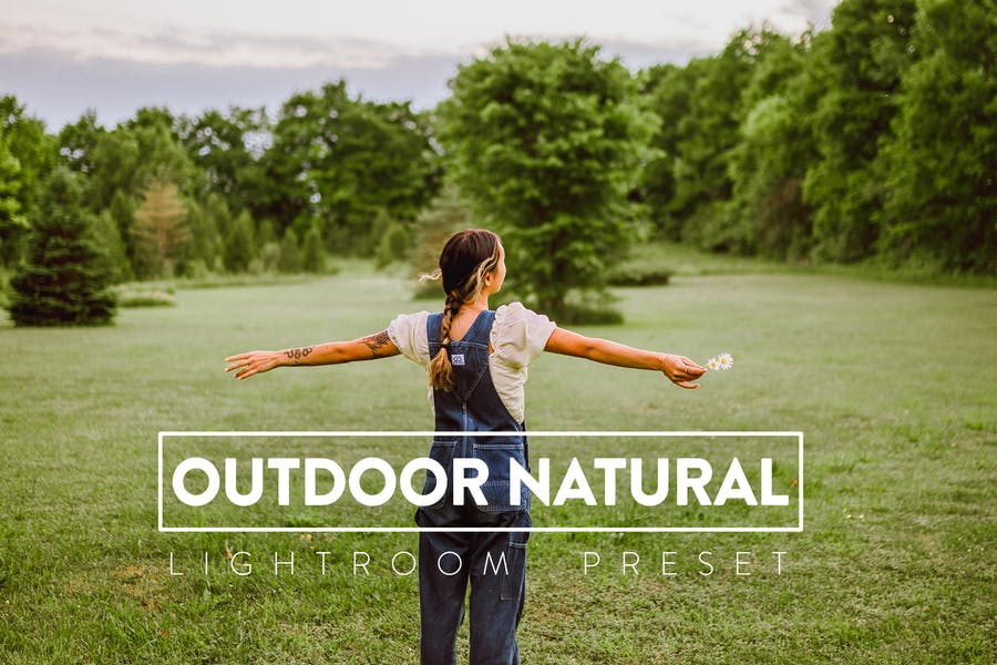 10 Outdoor Natural Lightroom Preset