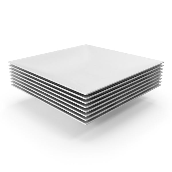 Thumbnail for Stack of Square Bowls