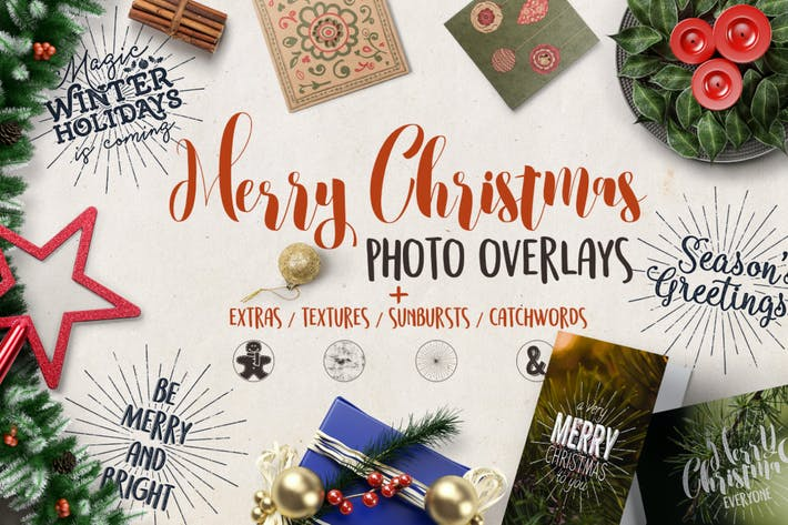 Cover Image For Christmas Overlays & Extras
