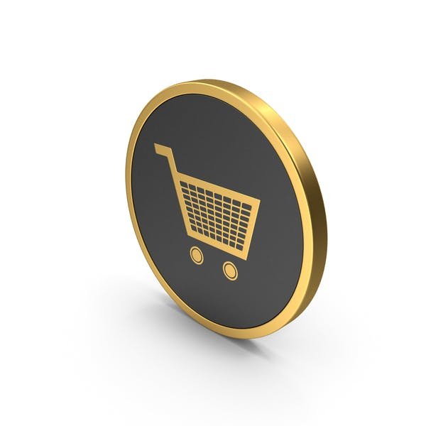 Thumbnail for Gold Icon Shopping Cart