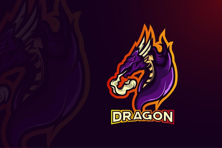 Thumbnail for DRAGON LOGO TEMPLATE