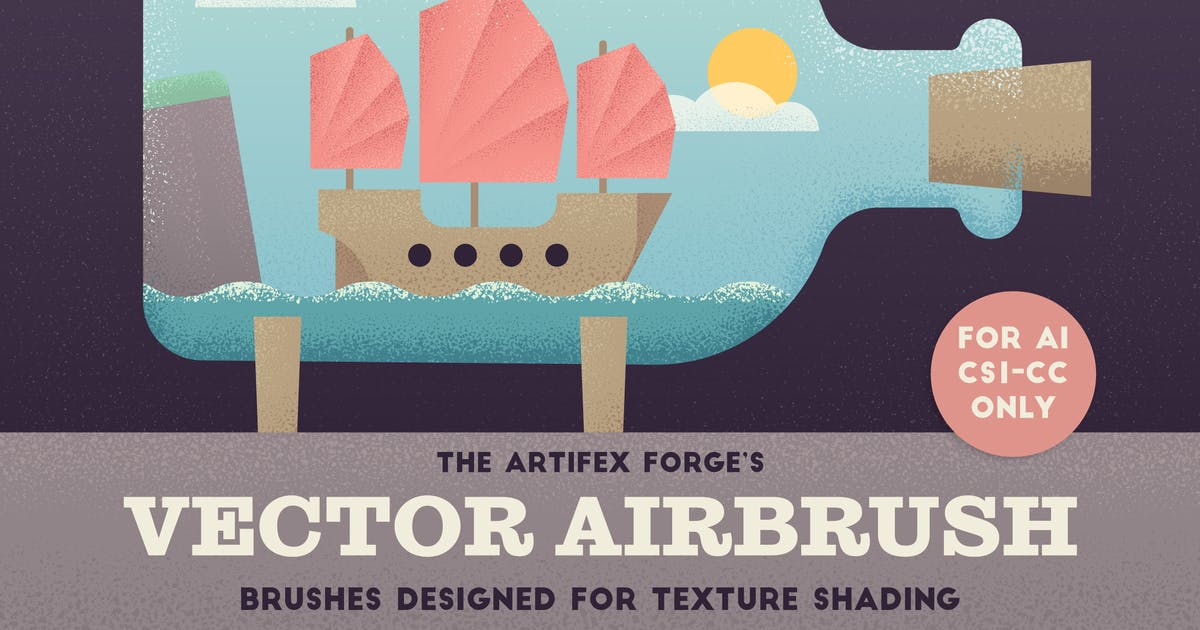Download The Vector Airbrush - Shader Brushes by JRChild