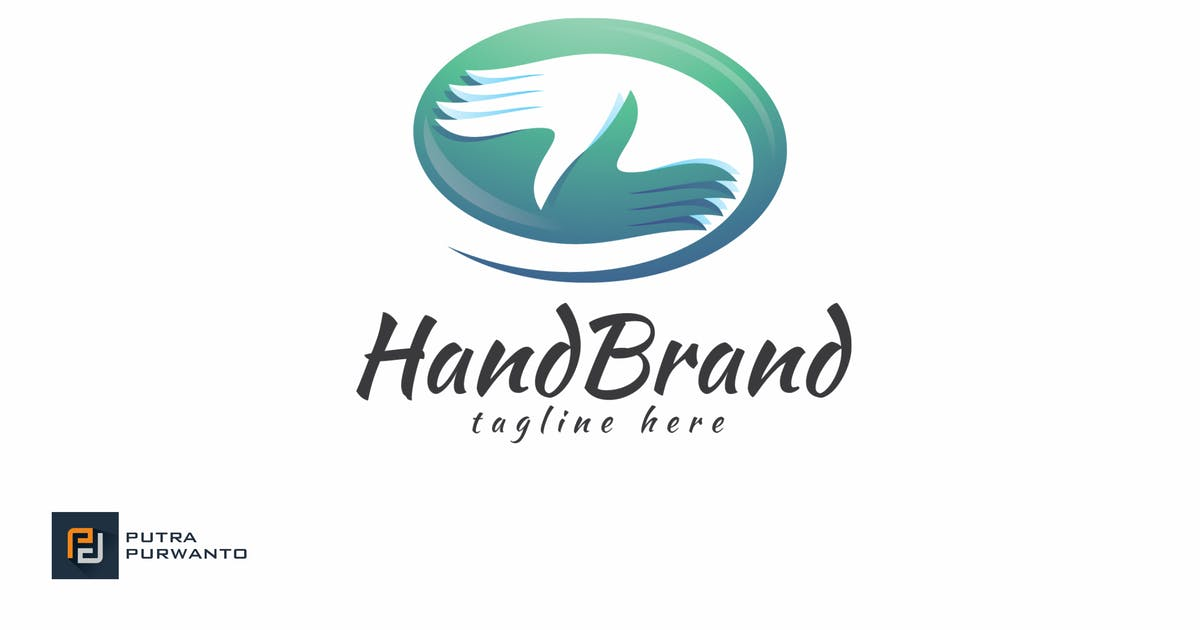 Download Hand Brand - Logo Template by putra_purwanto