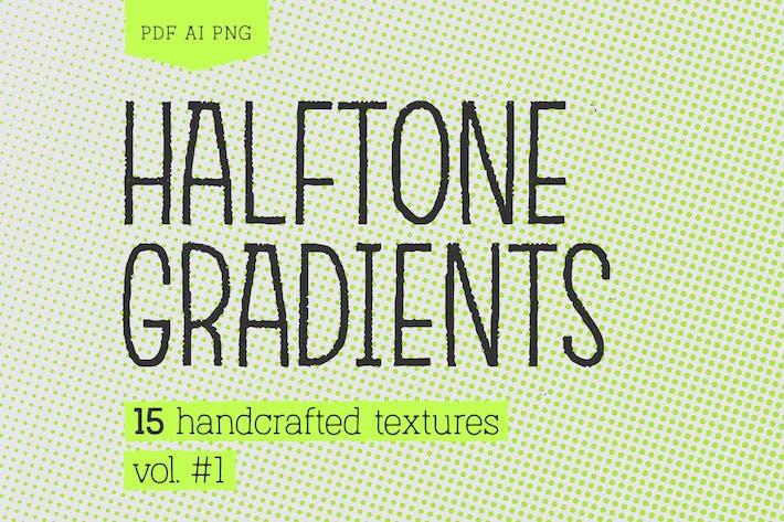 Thumbnail for Pack de textures de Dégradés demi-tons #1