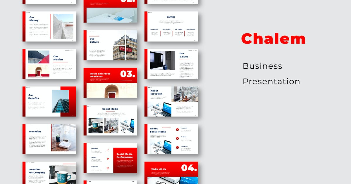 Download Chalem Busines Presentation by celciusdesigns