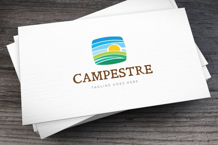 Thumbnail for Campestre Logo Template
