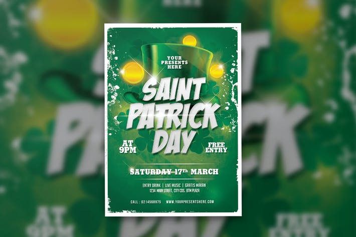 Thumbnail for Saint Patrick Flyer