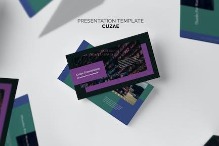 Cuzae : SEO Optimization Proposal Powerpoint