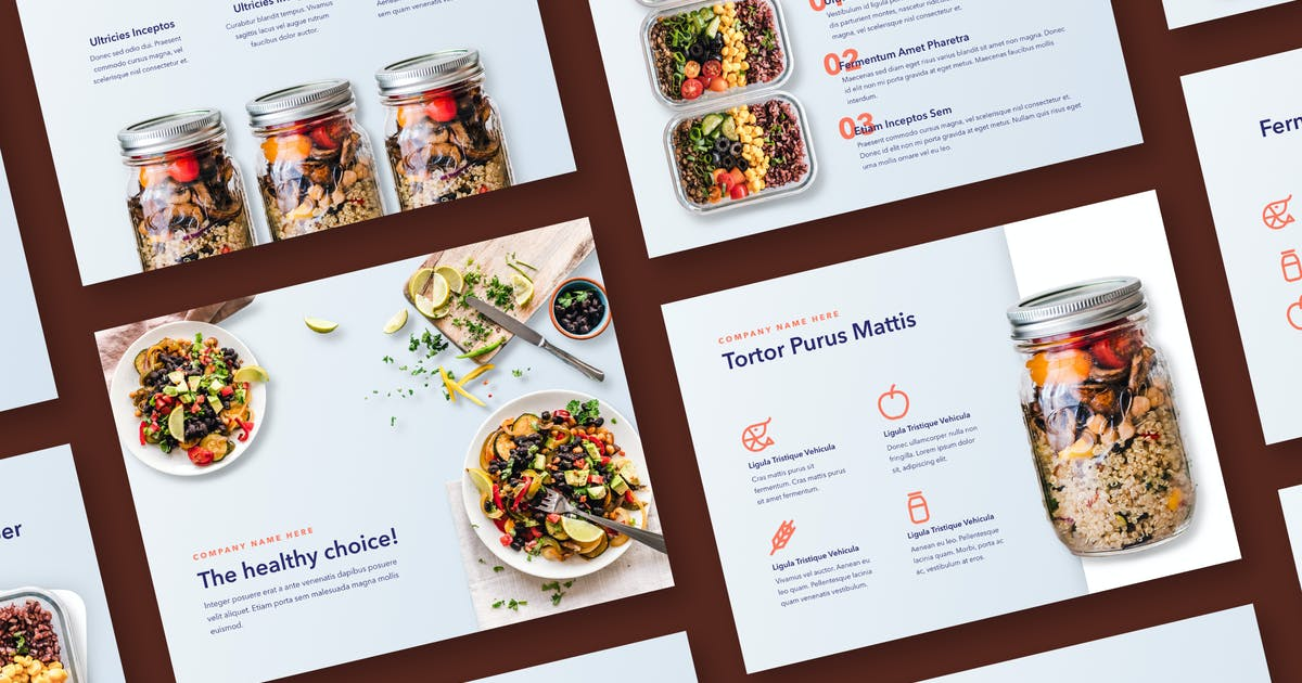 Download Nutritious Keynote Template by Jumsoft