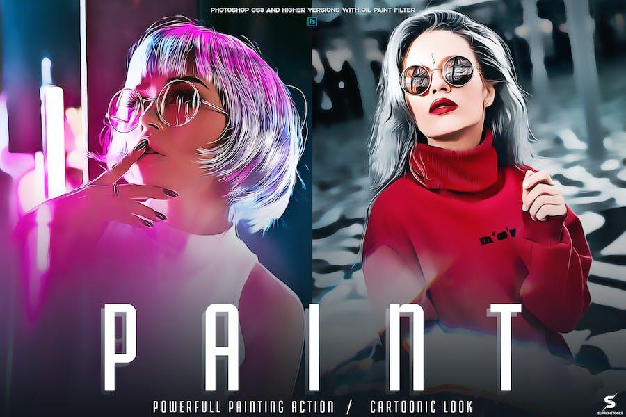 PAINT Photoshop Эк