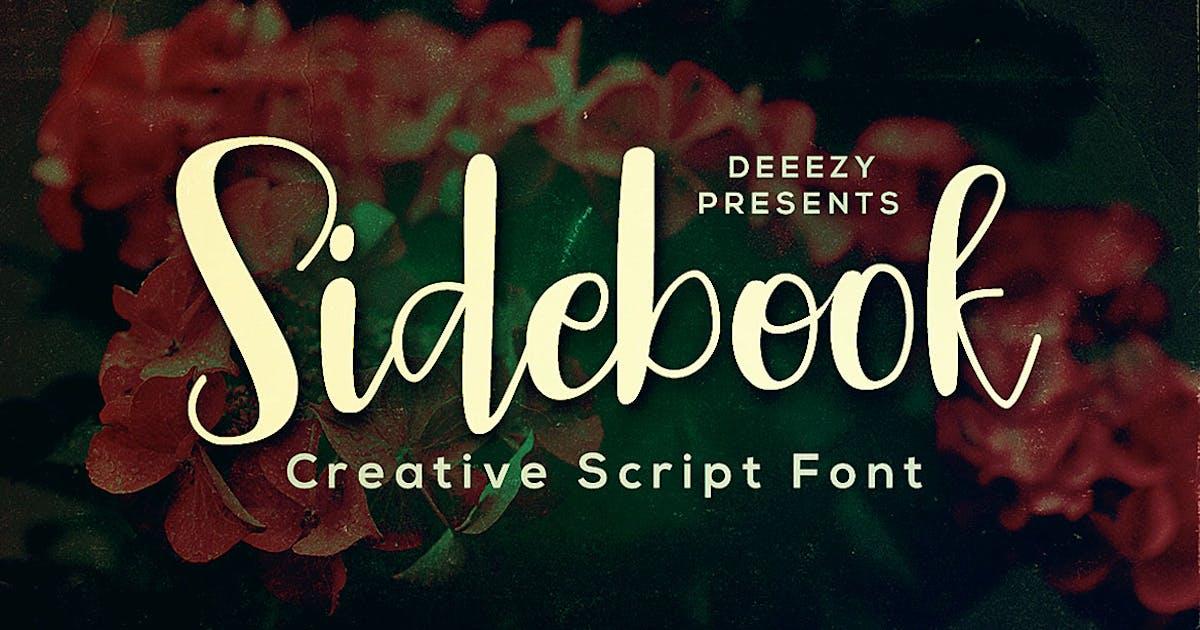 Download Sidebook Script Font by cruzine