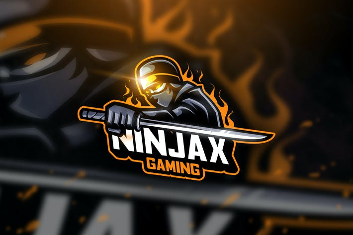 Thumbnail for Ninjax Gaming - Mascot & Esport Logo