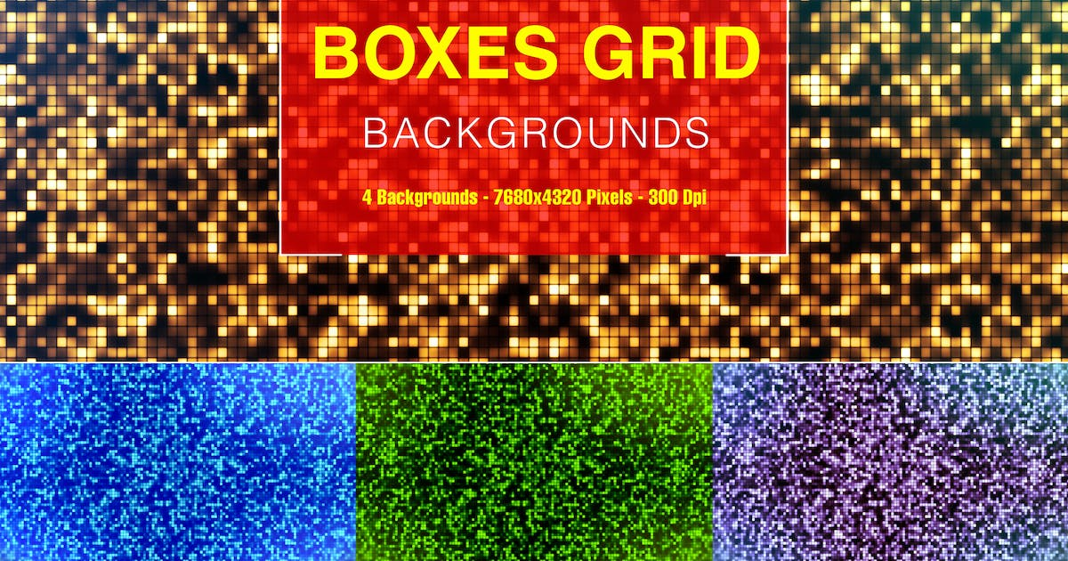 Download Boxes Grid by Kreativorks
