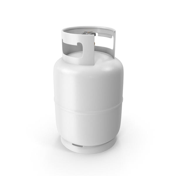 Cover Image for White Gas Tank